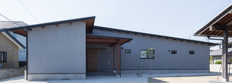 小屋名平屋の家